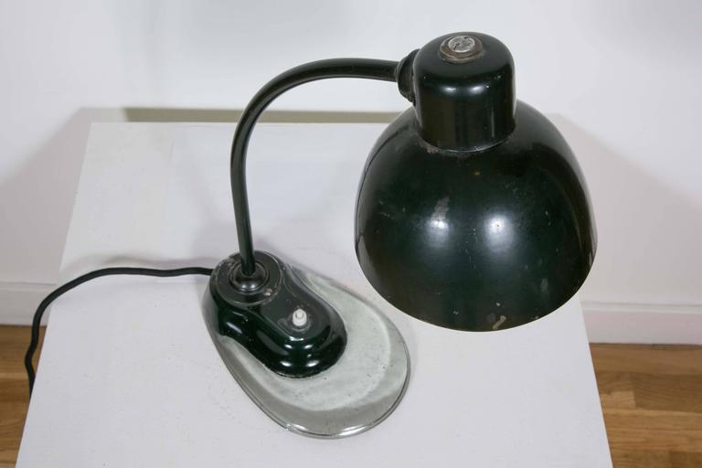 Bauhaus Desk Lamp Designed by Marianne Brandt, 1930s For Sale 2