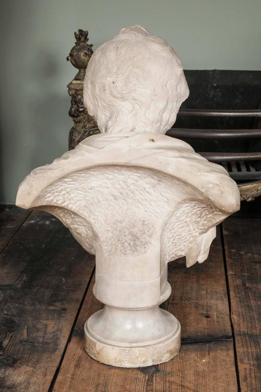 Very Fine Grand Tour Bust of an Irish Gentleman In Excellent Condition For Sale In London, GB