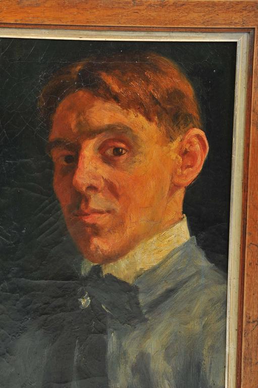 Early 19th Century Self Portrait of a Dutch Artist 3