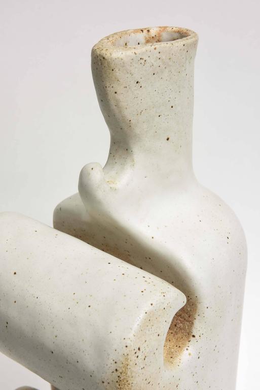American Modern Ceramic Vase/Sculpture, Daric Harvie For Sale 3