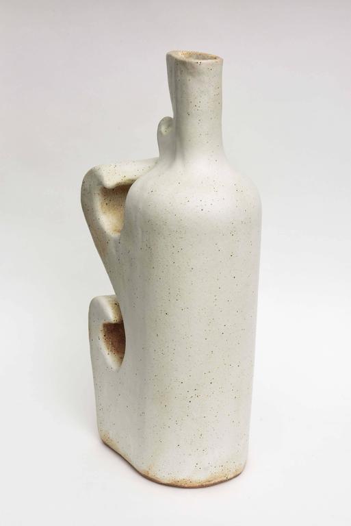 American Modern Ceramic Vase/Sculpture, Daric Harvie For Sale 4
