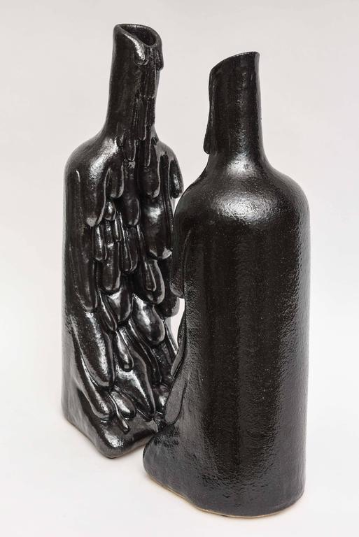 American Modern Ceramic Vase/Sculpture, Daric Harvie In Excellent Condition For Sale In Miami, FL