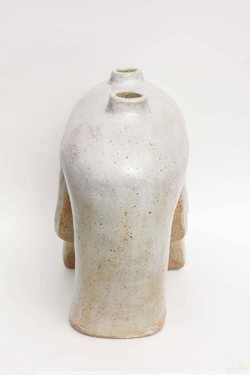 American Modern Ceramic Vase/Sculpture, Daric Harvie For Sale 1