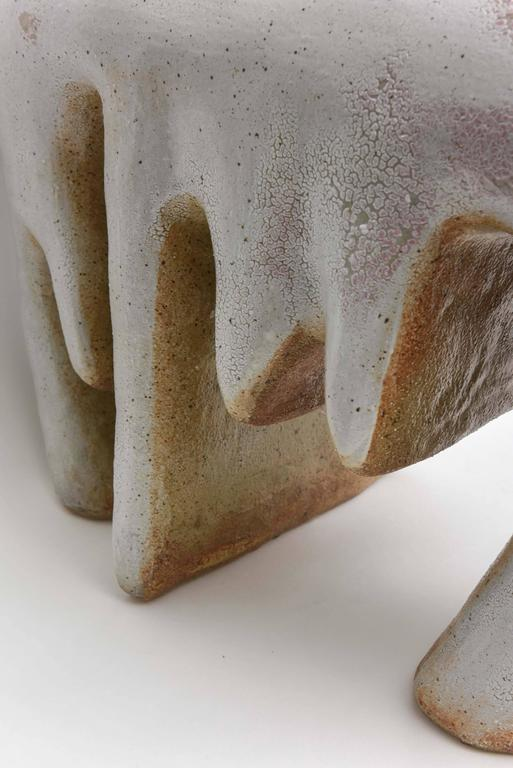 American Modern Ceramic Vase/Sculpture, Daric Harvie For Sale 2
