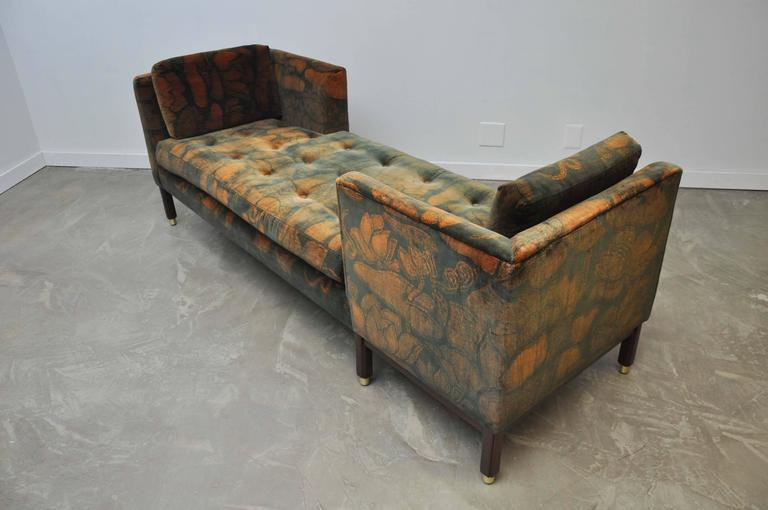 American Dunbar Tete-a-tete Sofas by Edward Wormley For Sale