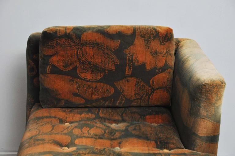 Dunbar Tete-a-tete Sofas by Edward Wormley For Sale 3