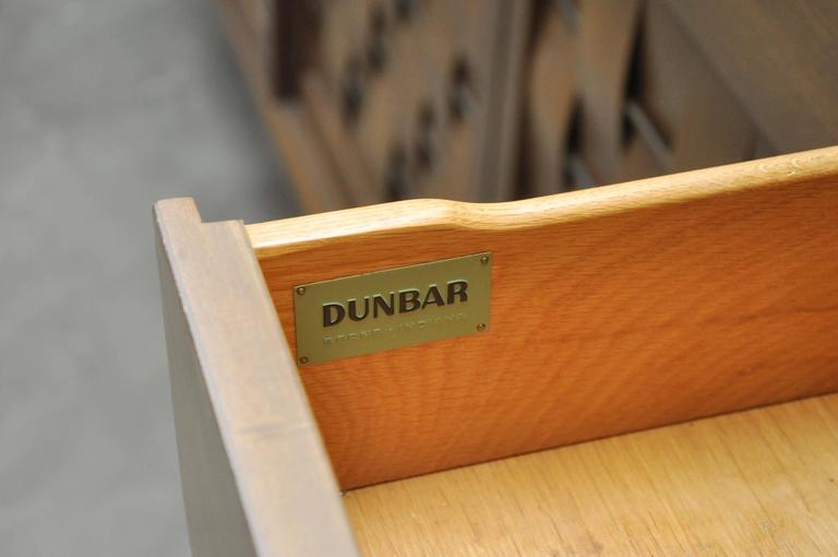 Dunbar Woven Front Credenza by Edward Wormley For Sale 3