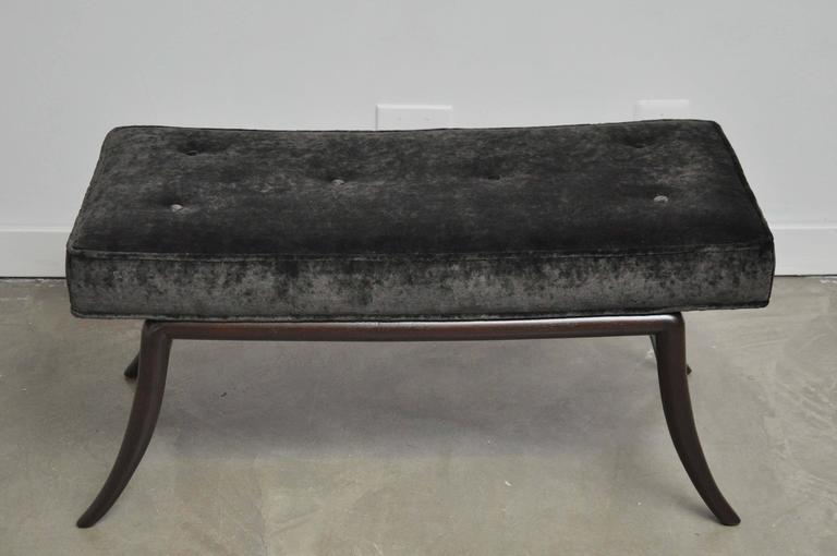 Sabre Leg Bench by T.H. Robsjohn-Gibbings 3