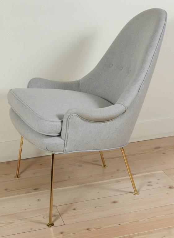 Carthay chair by Lawson-Fenning. Available to order with customs own materials with a 6-8 week lead time.  To order: $1,650 COM.