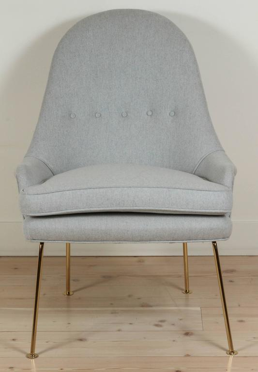 Contemporary Carthay Chair by Lawson-Fenning For Sale