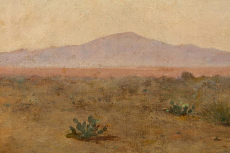 North American California Landscape with Mountains For Sale