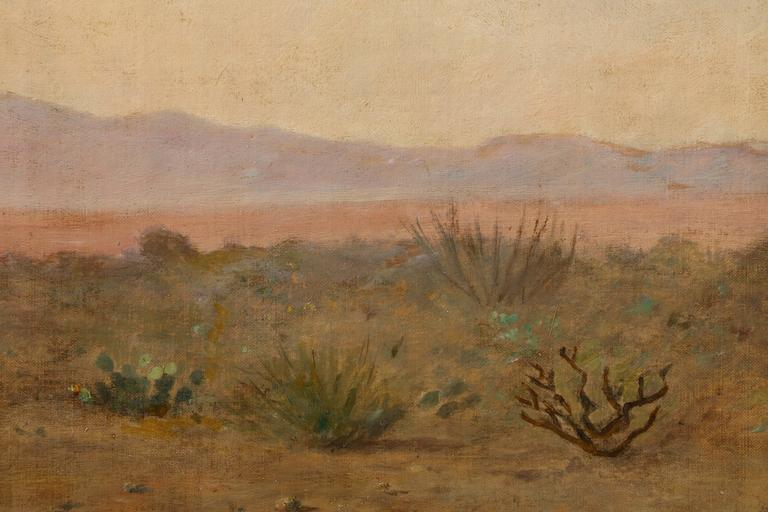 California Landscape with Mountains In Excellent Condition For Sale In New York, NY