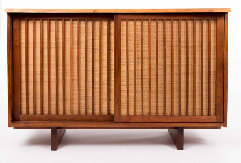 American Walnut Cabinet by George Nakashima For Sale