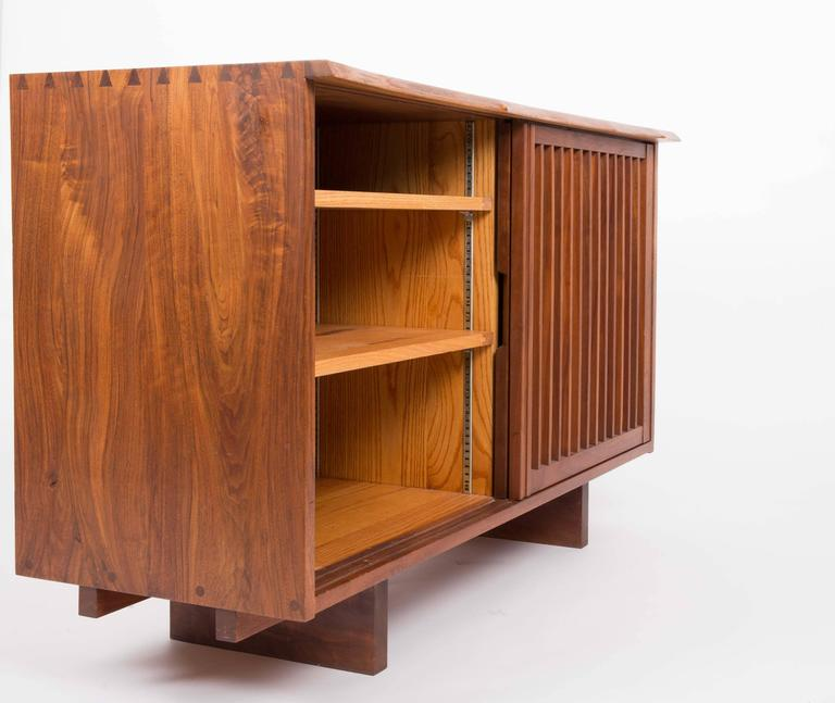 20th Century Walnut Cabinet by George Nakashima For Sale