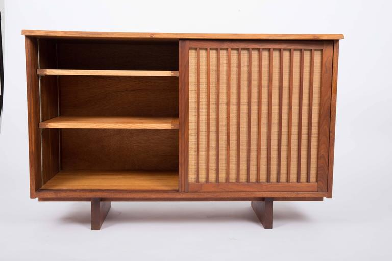 Walnut Cabinet by George Nakashima For Sale 1