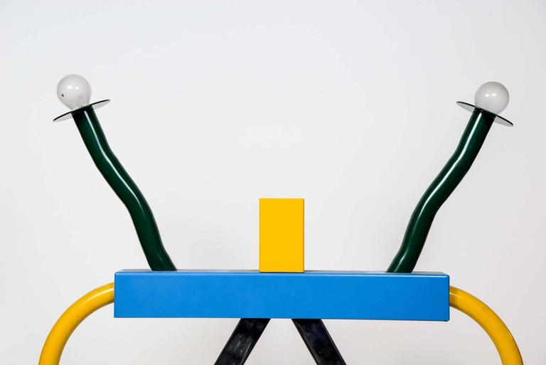 Colorful Ashoka Lamp by Ettore Sottsass for Memphis 2