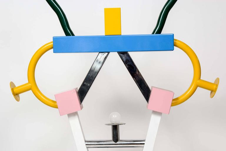 Colorful Ashoka Lamp by Ettore Sottsass for Memphis 3