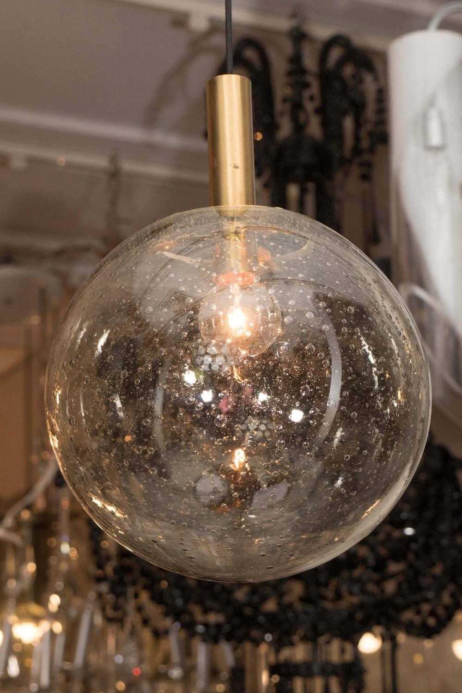 Champagne Glass Globe Pendants at 1stdibs