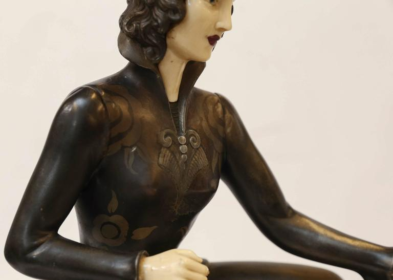 Bakelite French Sculpture,