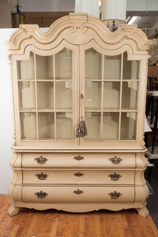 Dorothy Draper Viennese Collection Breakfront Cabinet for Henredon ...