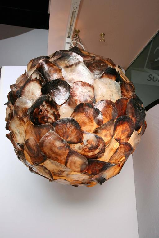 Shell Hanging Lantern 4
