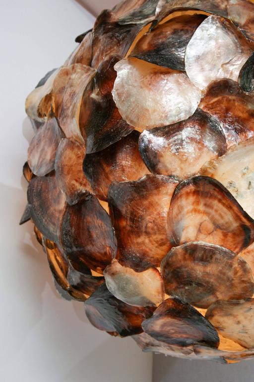 Shell Hanging Lantern 7