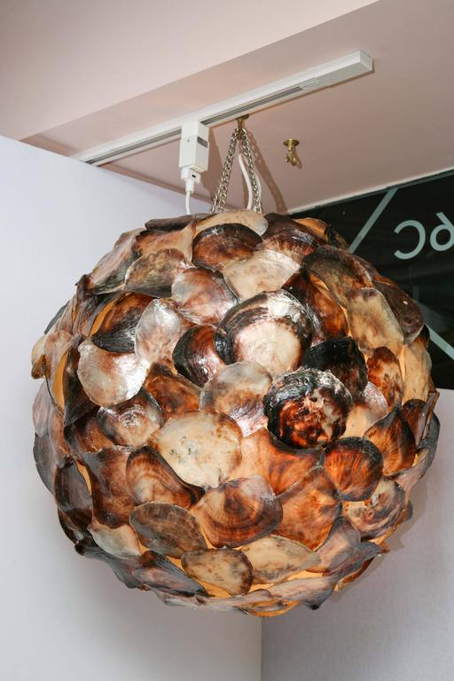 Shell Hanging Lantern For Sale 3