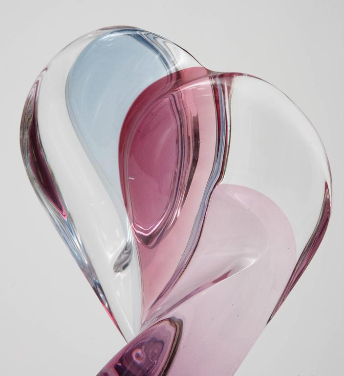 Multi-Colored Lucite Figural Sculpture of Two Lovers Embracing by Michael Bene In Good Condition For Sale In West Palm Beach, FL