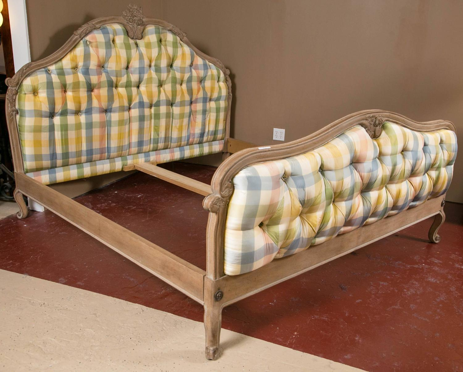King sized louis xv style country french bed for sale at for French country style beds