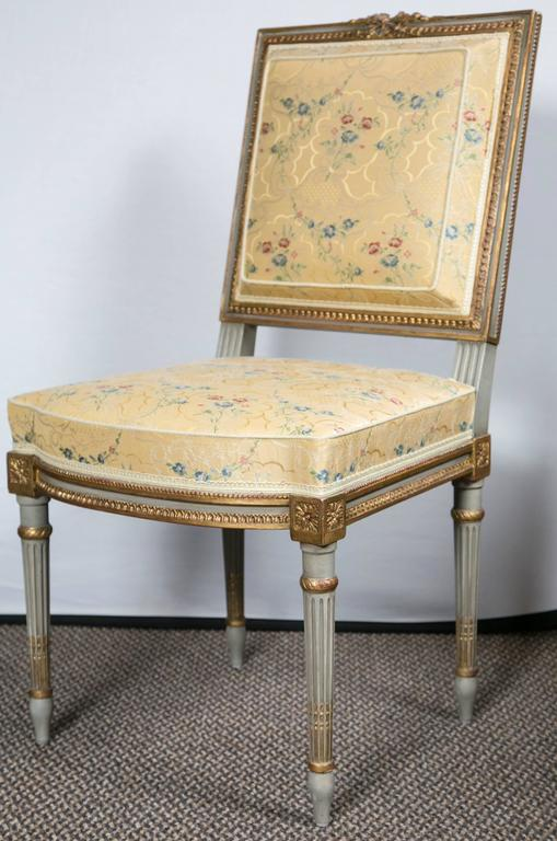 Set Of Four Maison Jansen Dining Side Chairs For Sale At 1stdibs