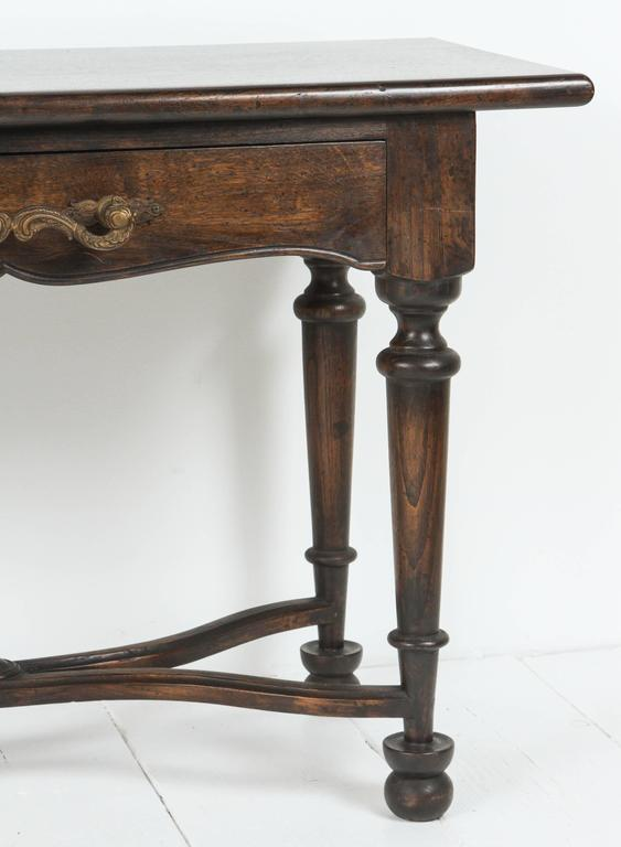 Console with Wrought Iron Handles 3