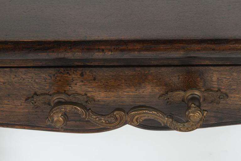 Console with Wrought Iron Handles 6