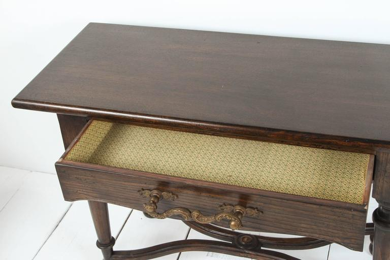 Console with Wrought Iron Handles For Sale 2