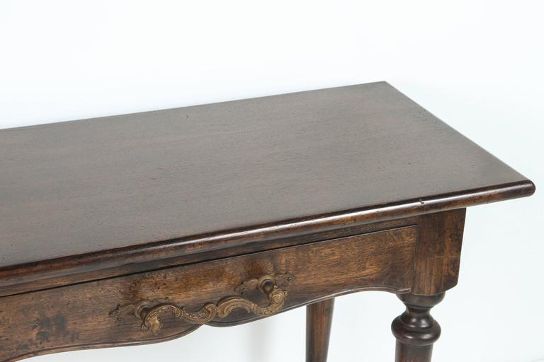 Console with Wrought Iron Handles For Sale 3