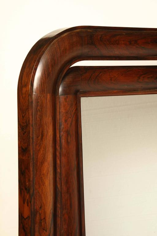 Early 19th Century, English, William IV Cheval Mirror In Excellent Condition For Sale In New York, NY