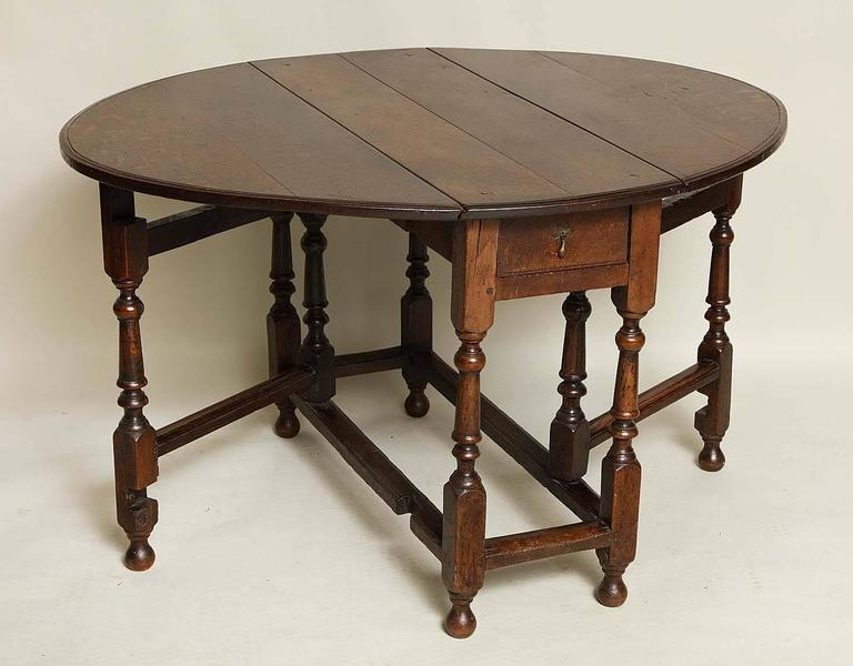 english oak gateleg table for sale at 1stdibs