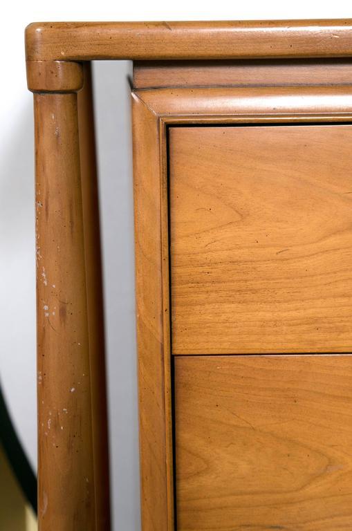 Mid-Century Modern Floating Custom Quality Nine-Drawer Dresser 2