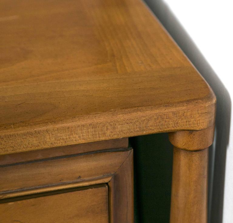 Mid-Century Modern Floating Custom Quality Nine-Drawer Dresser 4
