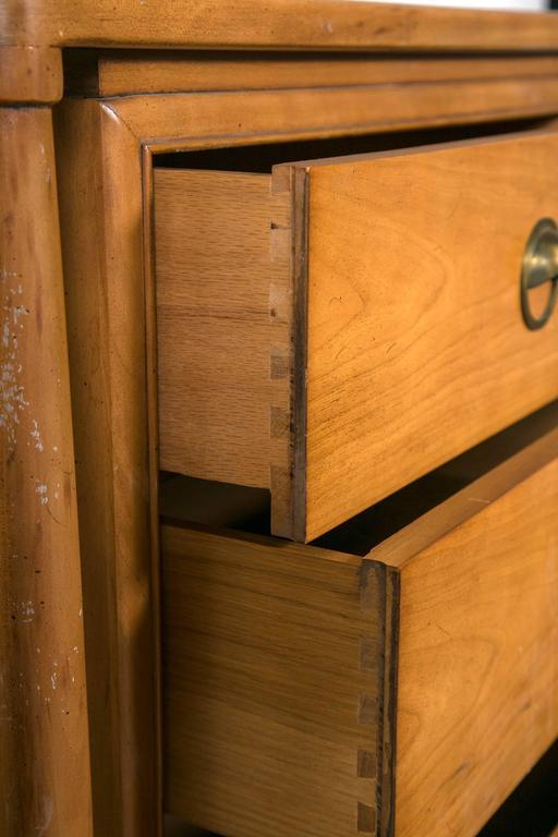 Mid-Century Modern Floating Custom Quality Nine-Drawer Dresser 5