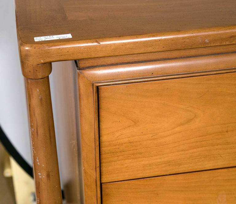 Mid-Century Modern Floating Custom Quality Nine-Drawer Dresser 7
