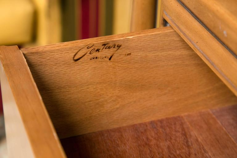 Mid-Century Modern Floating Custom Quality Nine-Drawer Dresser 8
