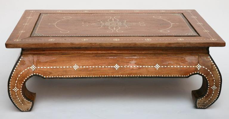 Superbly Inlaid Moroccan Coffee Table 2