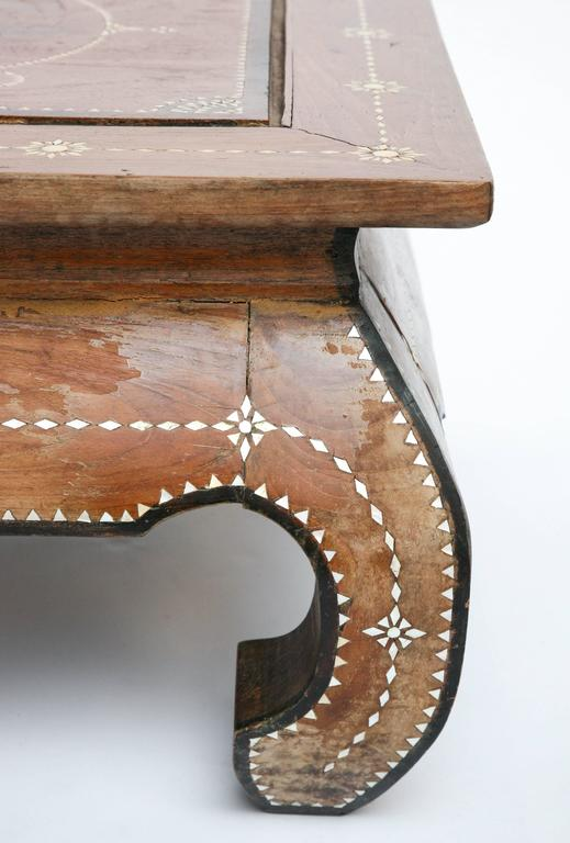 Superbly Inlaid Moroccan Coffee Table 7