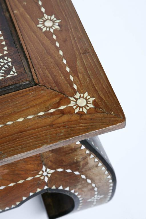 Superbly Inlaid Moroccan Coffee Table 8