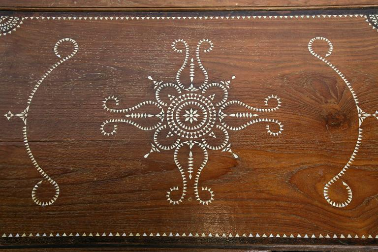 Superbly Inlaid Moroccan Coffee Table 9