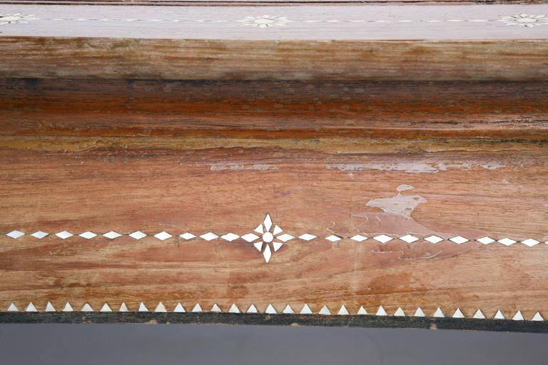 Superbly Inlaid Moroccan Coffee Table For Sale 4