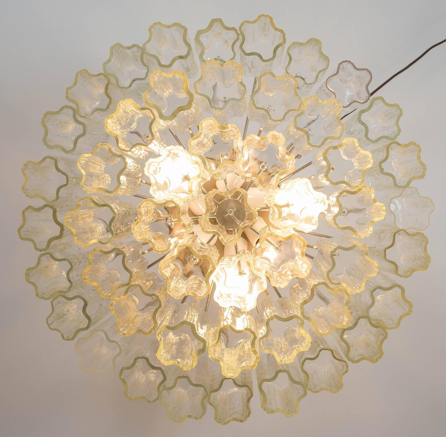 Large Murano Tronchi Pendant Light For Sale At 1stdibs