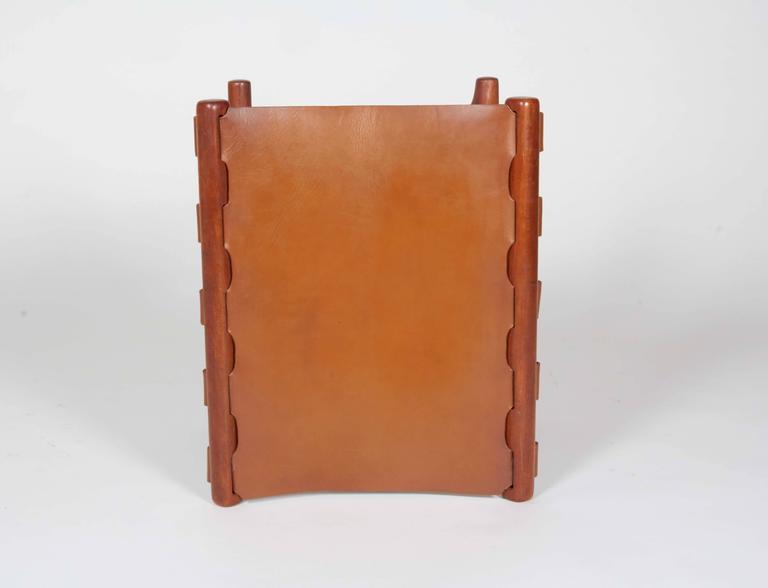 Mid-20th Century Poul Hundevad Folding Stool For Sale