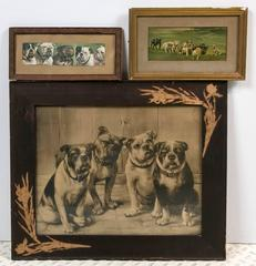Unique Bulldog Art Collection