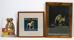 Pop Art Collection of Bulldogs
